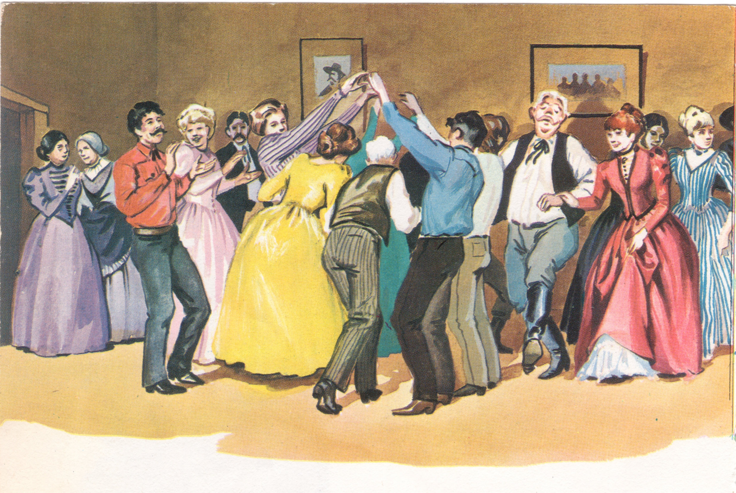 Old Time Square Dance
